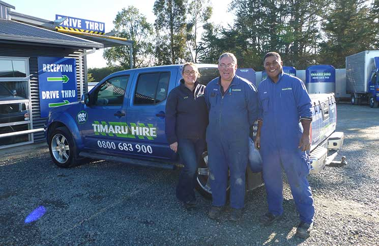 Award winning firm Timaru Hire are among the many members represented by HIANZ.