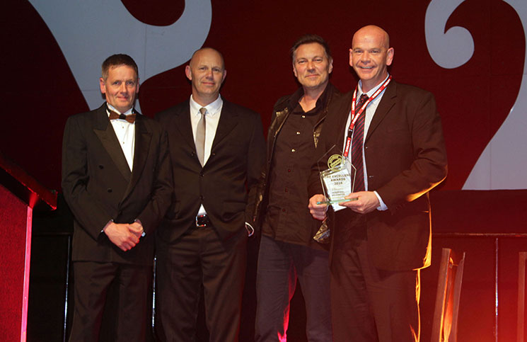 Hirepool Wellington won a gold award at the 2016 Hire Excellence Awards.