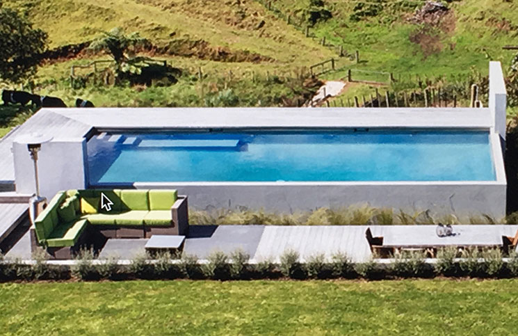 People are encouraged to engage members of Master Pool Builders to ensure the quality reaches a standard in line with this award winning pool built by Paul Fuller of Acacia Pool and Spa Tauranga.